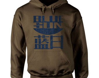 S - 2XL > BLUE SUN Corporation - Distressed Design HOODIE - Firefly / Serenity