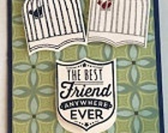 The Best Friend Anywhere Ever Greeting Card