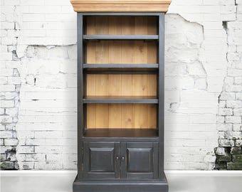 Bookcase, Display Cabinet, Reclaimed Wood, Bookshelves, Rustic, Handmade