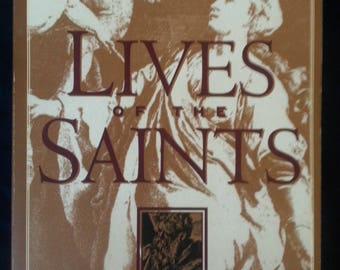 Book Lives of the Saints by Alban Butler