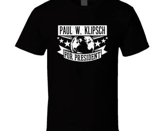 Paul W. Klipsch For President Engineering And Science Hall Of Fame T Shirt