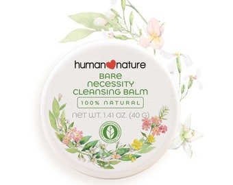 HUMAN NATURE Bare Necessity Cleansing Balm CERTIFIED 100% All Natural