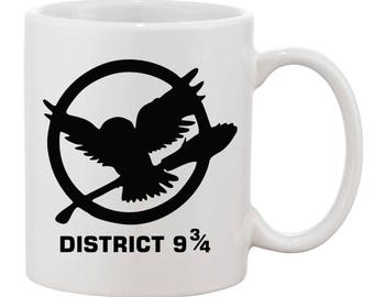 District 9 3/4 - Harry Potter inspired mug