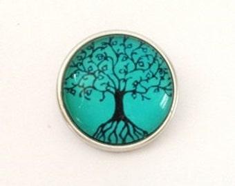 Click / drukker Tree of Life click drukker click sieraden handgemaakt cadeau