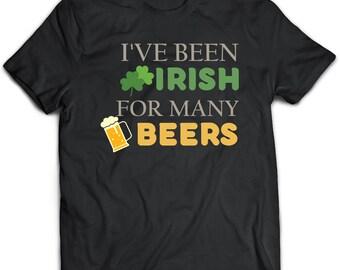 Irish T-Shirt. Irish tee present. Irish tshirt gift idea. - Proudly Made in the USA!