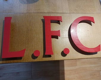 Liverpool F.C The Ultimate L.F.C wall Mancave Sign.