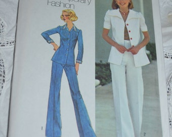 SImplicity 6892  Misses Shirt -  Jacket and Pants Sewing Pattern UNCUT Size 10 or Size 12 or Size 14 & 16