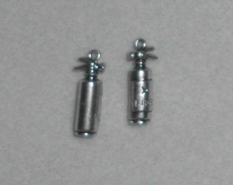 Silver Fire Extingusher Charms