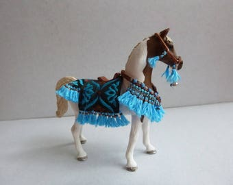 Arabian Saddleset Turquoise for sneaky horses