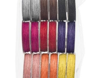 120 Yards! American Crafts Premium Ribbon Value Pack, Colored Jute, Scrapbooking Supplies, Gift Wrap Supplies, Jute Ribbon