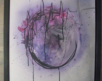 Sold - Temperance. Abstract art