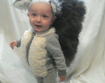 Baby/Toddler Costume-Squirrel