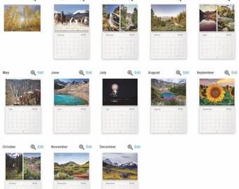 2018 Colorado Photography Calendar