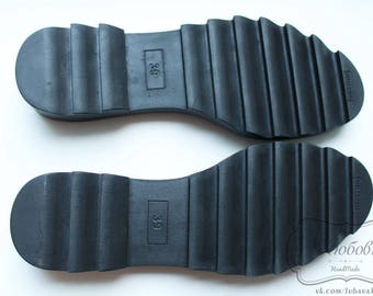 BOOTS SOLES - Soles for crochet and felted boots. High quality polyurethane