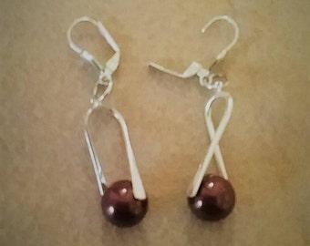 Swarovski Pearl Drop Ear Ring