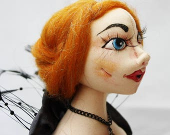 Cecille Art Doll Bust Statue