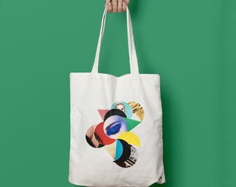 "Tote bag ""Time"""