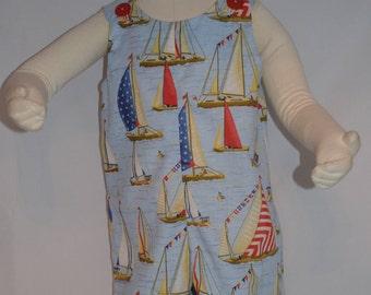 Sailboat Romper