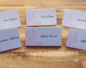 Printable custom place cards