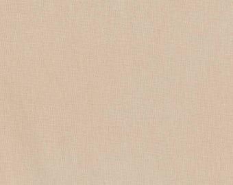 Tan Kona Cotton, Robert Kaufman Fabric, Half Yard