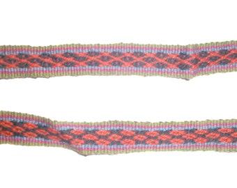 Peruvian Inca Hand Woven Belt/ Headband