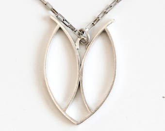 Hope sterling silver pendant necklace, made-to-order