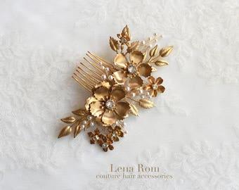 Bridal headpiece. Hair comb. Wedding headpiece. Style818