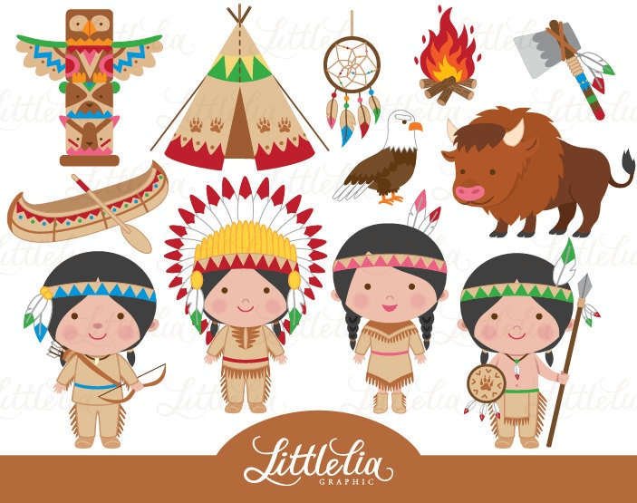 indian clipart native america clipart cowboy clipart 15029 rh etsystudio com clipart indian girl clipart indian food