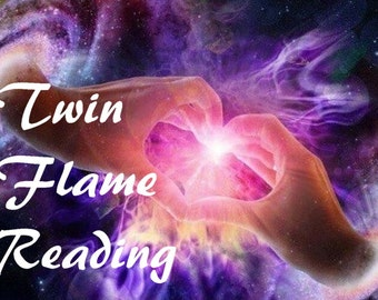 TWIN FLAME Psychic Reading via email