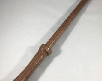 "Walnut Wood Magic Wand - 13.25"""