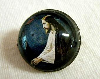 Christ lapel pin/brooch - BR07-062