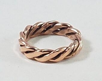 Copper twist band