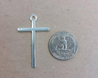Alloy silver Cross