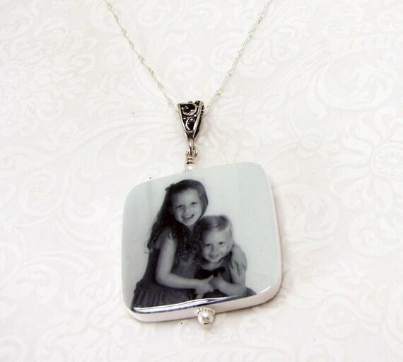 Custom Photo Necklace - Lg - P1RfN