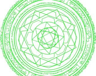 Doctor Strange Magic Circle Vector file