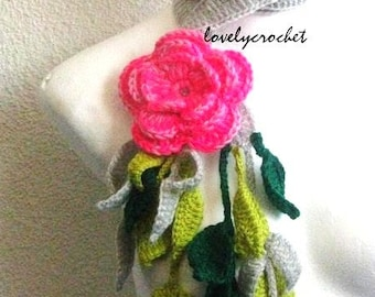 Summerdream   flower scarf , neck decoration