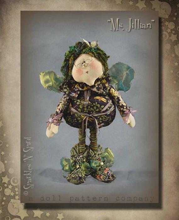 "Doll Kit: Ms Jillian - 22"" Irish Fairy"