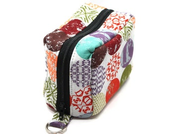 Essential Oil Case Holds 6 Bottles Essential Oil Bag Colorful Mod Dots