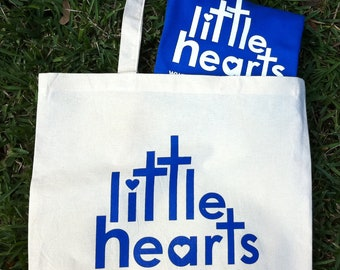 Little Hearts Tote and Tshirt Bundle