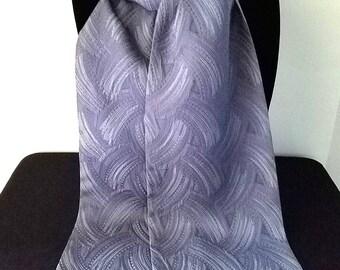 Kimono Scarf S8280 - blue swirls