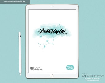 Freestlye Lettering Workbook #3