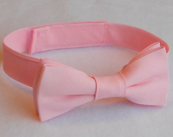 Light Pink Bowtie - Infant, Toddler, Boys -                     2 weeks before shipping