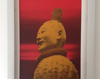 Chinese Terracotta Warrior print