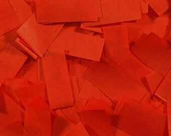 Red Tissue Confettti