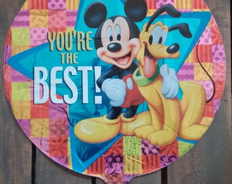 "18"" You're the Best Mickey Mouse and Pluto"