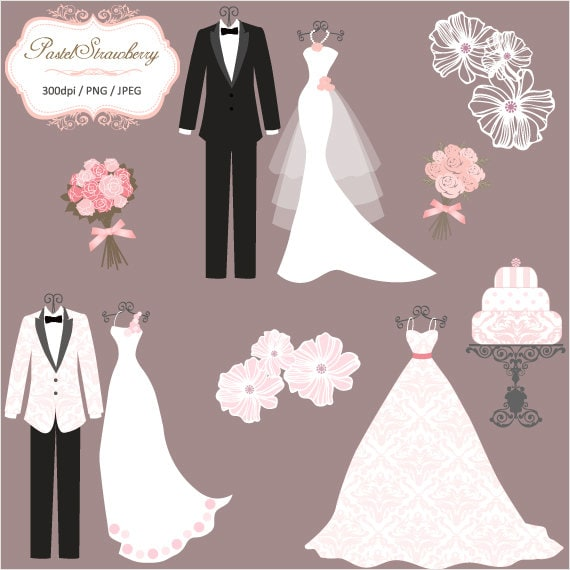 3 Luxury Wedding Dress & 2 Tuxedos - Personal Or Small Commercial ...