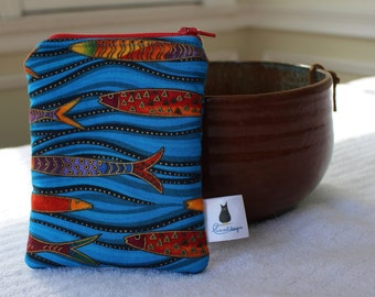 Zipper Pouch - One Fish, Two Fish...