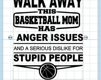 This basketball mom has anger issues.... svg