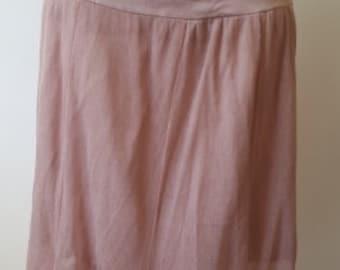 Old pink long skirt