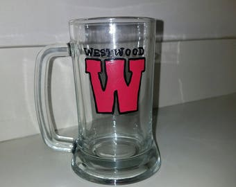 Westwood Beer Mug hand painted by LifeofReillyDesigns
